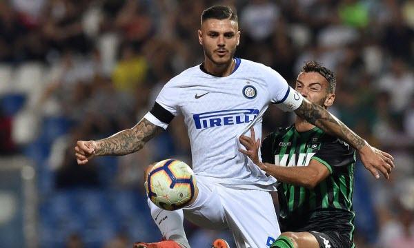 Inter Milan vs US Sassuolo Calcio 02h30 ngày 20/01