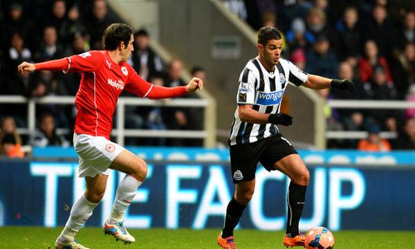 Bóng đá - Newcastle United vs Cardiff City 22h00 ngày 19/01