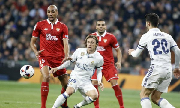 Real Madrid vs Sevilla 22h15 ngày 19/01