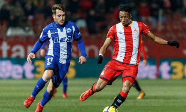 Bóng đá - Girona vs Alaves 00h30 ngày 13/01