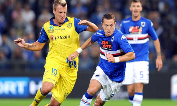 Bóng đá - Chievo vs Sampdoria 17h30 ngày 19/05
