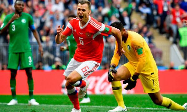 Bóng đá - Nga vs Ai Cập 01h00, ngày 20/06