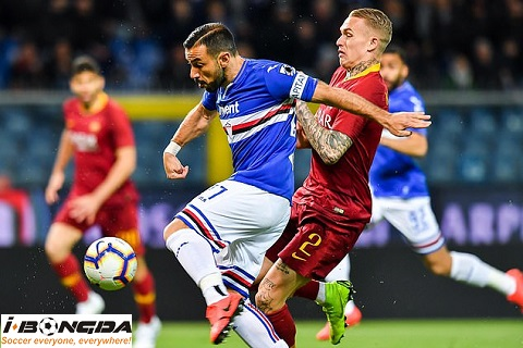 Bóng đá - AS Roma vs Sampdoria 16/03/2020 02h45