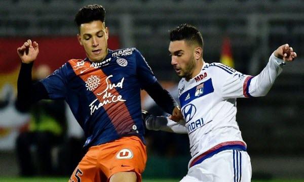 Bóng đá - Montpellier vs Lyon 23/12/2018 03h00