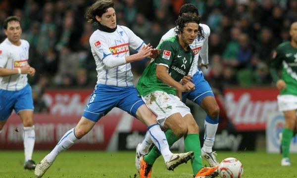 Bóng đá - Werder Bremen vs Hoffenheim 02h30 ngày 20/12