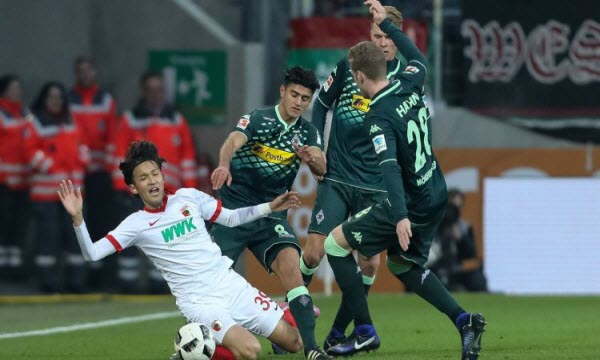 Dự đoán nhận định Monchengladbach vs Augsburg 21h30 ngày 26/01