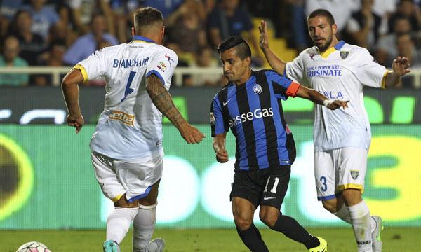 Bóng đá - Frosinone vs Atalanta 18h30 ngày 20/01