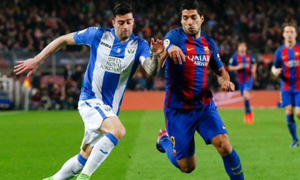 Thông tin trước trận Barcelona vs Leganes