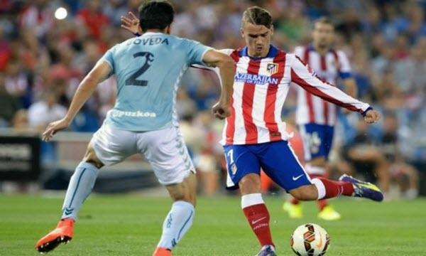 Thông tin trước trận Atletico Madrid vs Eibar