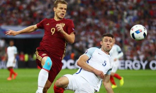 Bóng đá - Nga vs Xứ Wales 02h00, ngày 21/06