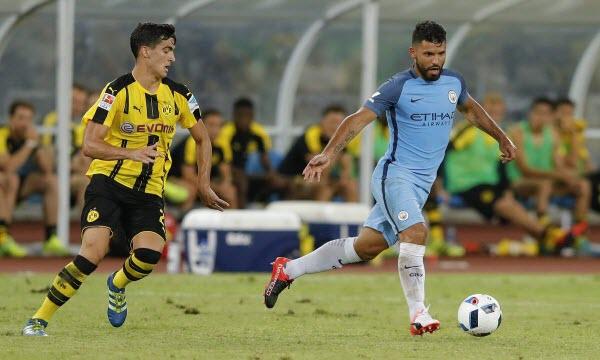Bóng đá - Manchester City vs Borussia Dortmund 08h00, ngày 21/07