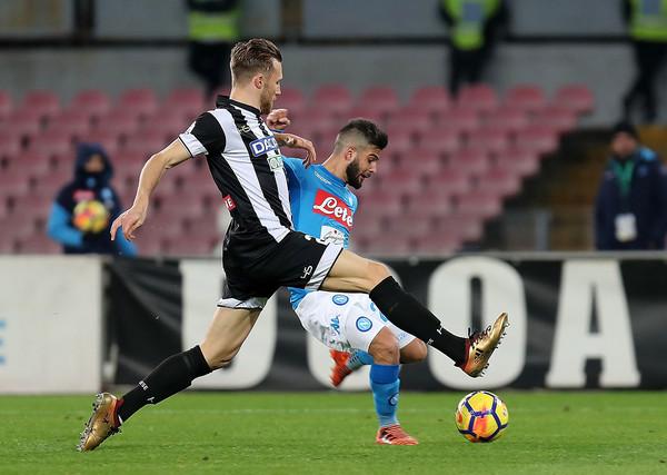 Thông tin trước trận Napoli vs Udinese