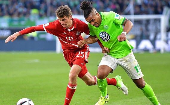 Bóng đá - Wolfsburg vs Bayern Munich 20h30 ngày 20/10