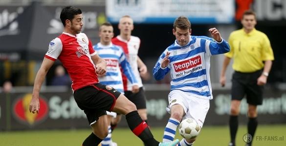 Zwolle vs Feyenoord Rotterdam 01h45 ngày 20/01