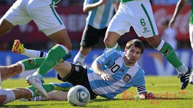 Bóng đá - Argentina 1-1 Bolivia: Thất vọng Albiceleste!