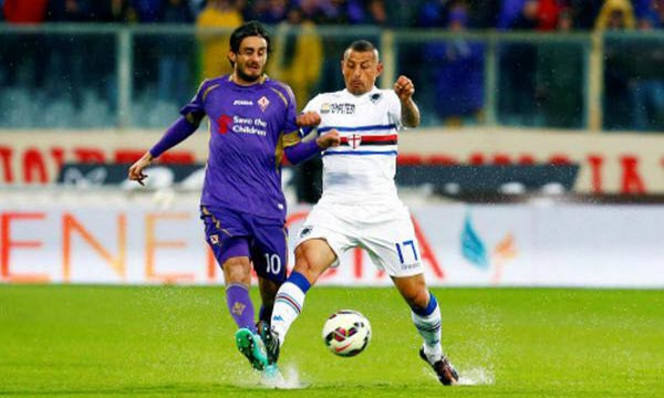 Bóng đá - Fiorentina vs Sampdoria 20/01/2019 21h00