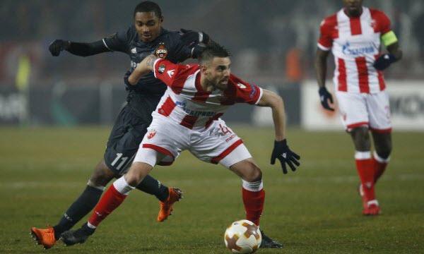 Bóng đá - CSKA Moscow vs Crvena Zvezda 00h00, ngày 22/02