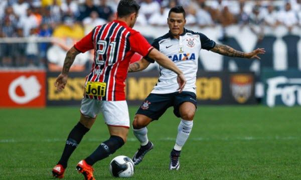 Bóng đá - Sao Paulo vs Corinthians Paulista 6h ngày 19/10