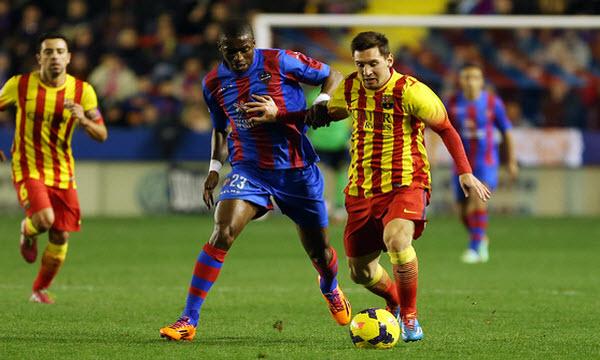 Bóng đá - Levante vs Barcelona: 02h00, ngày 22/09