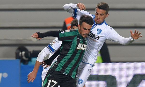 Bóng đá - US Sassuolo Calcio vs Empoli 01h30, ngày 22/09