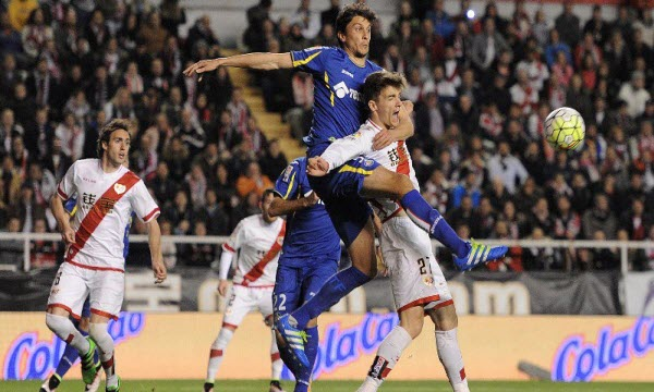 Bóng đá - Getafe vs Rayo Vallecano 23/02/2019 19h00