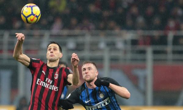 Bóng đá - AC Milan vs Inter Milan 18/03/2019 02h30