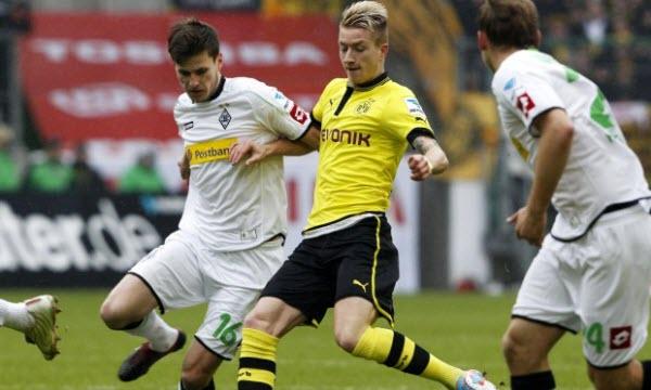 Bóng đá - Borussia Dortmund vs Monchengladbach 02h30 ngày 22/12
