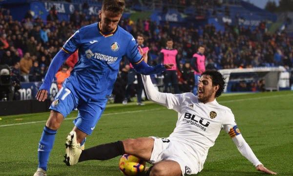 Bóng đá - Getafe vs Valencia 03h30 ngày 23/01
