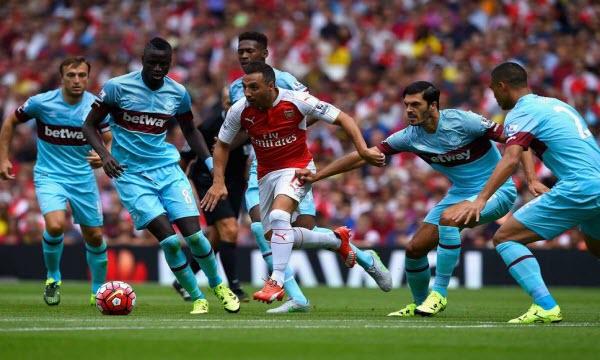 Bóng đá - Arsenal vs West Ham United 19h30, ngày 22/04