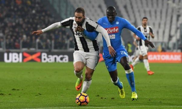 Bóng đá - Juventus vs Napoli 01h45, ngày 23/04