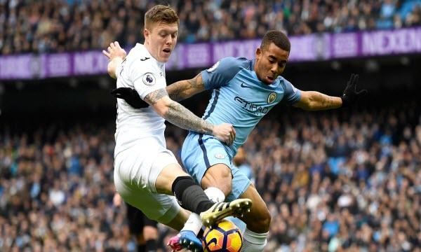 Bóng đá - Manchester City vs Swansea City 22h30, ngày 22/04