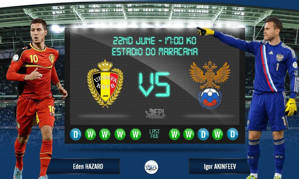 Phân tích Nga vs Bỉ 2h ngày 13/6