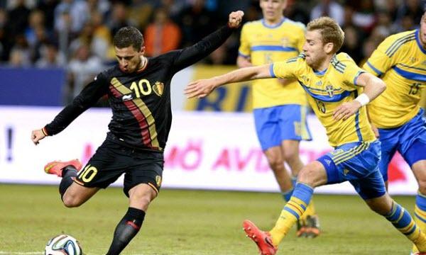 Bóng đá - Thụy Điển vs Bỉ 02h00, ngày 23/06