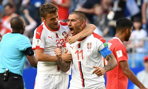 Bóng đá - Serbia vs Thụy Sỹ 01h00, ngày 23/06