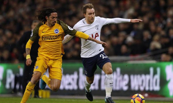 Bóng đá - Tottenham Hotspur vs Brighton & Hove Albion 24/04/2019 01h45