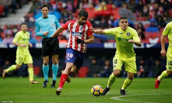 Bóng đá - Getafe vs Atletico Madrid 23h30, ngày 22/09