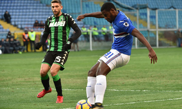 Bóng đá - Sampdoria vs US Sassuolo Calcio 01h30 ngày 23/10
