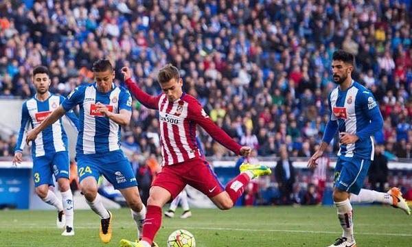 Bóng đá - Atletico Madrid vs Espanyol 22h15 ngày 22/12