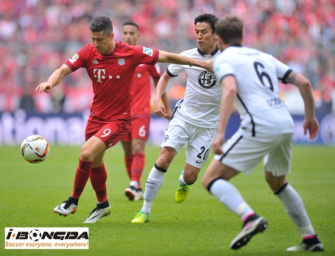 Bóng đá - Eintr. Frankfurt vs Bayern Munich 00h30 ngày 23/12
