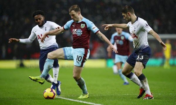Bóng đá - Burnley vs Tottenham Hotspur 19h30 ngày 23/02