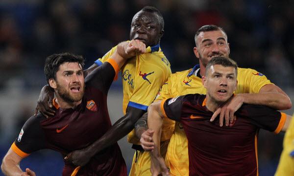 Bóng đá - Frosinone vs AS Roma 02h30 ngày 24/02