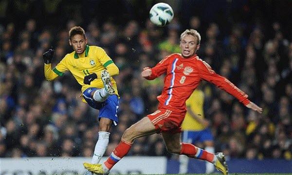 Bóng đá - Nga vs Brazil 23h00, ngày 23/03