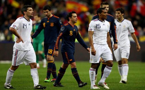 Bóng đá - Tây Ban Nha vs Pháp: Kẻ thù trong bóng tối
