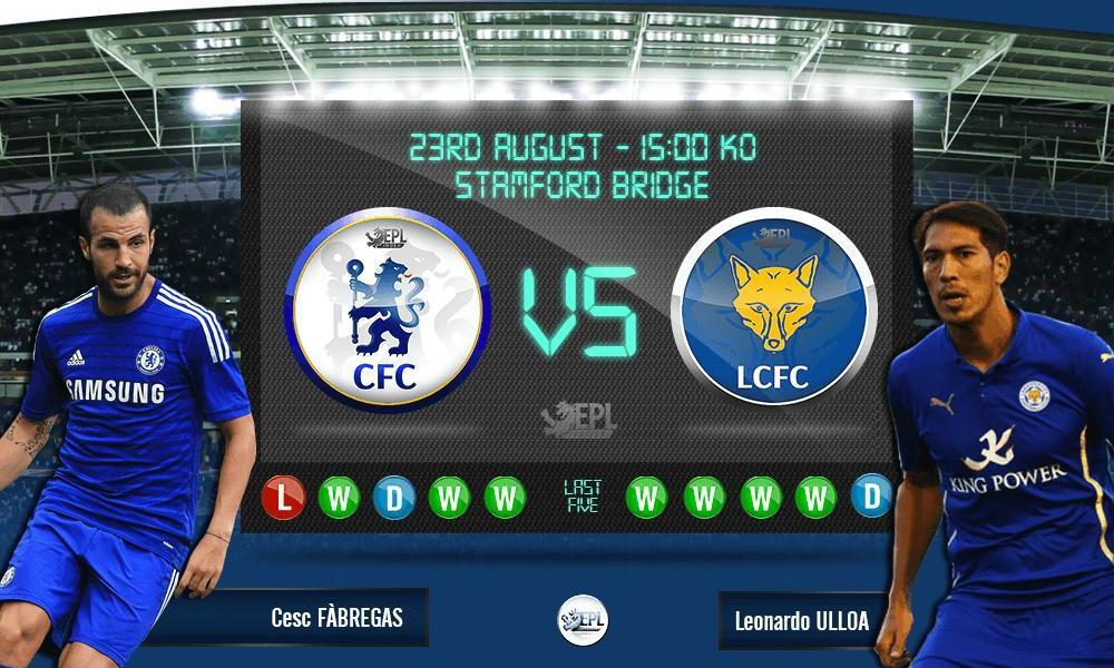 Bóng đá - Chelsea vs Leicester City: 21h00, ngày 23/08