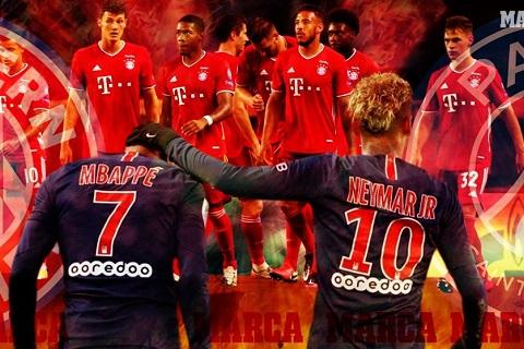 Bóng đá - Paris Saint Germain vs Bayern Munich 2h ngày 24/8