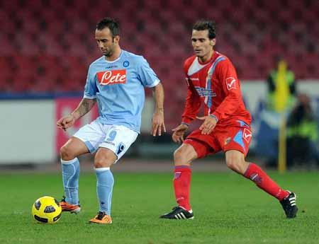 Bóng đá - 20h00 ngày 23/9:Catania - Napoli