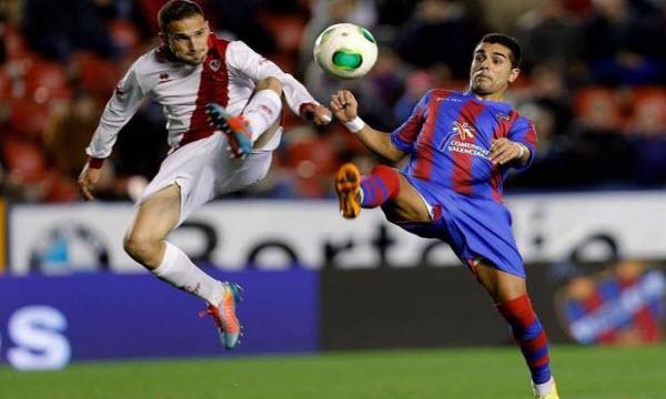 Bóng đá - Levante vs Rayo Vallecano 04/05/2019 18h00