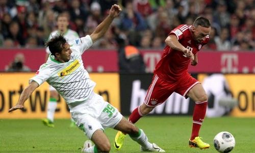 Bóng đá - M'gladbach - Bayern Munich, vòng 18 Bundesliga