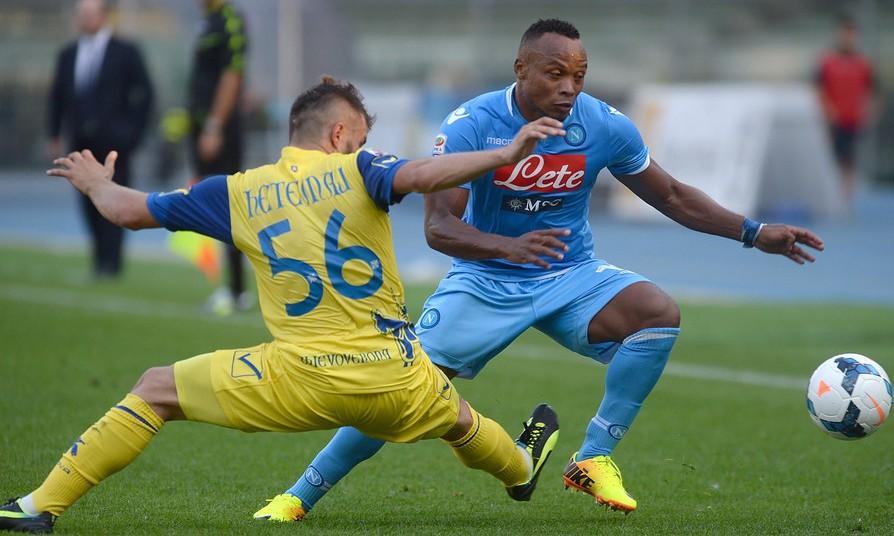 Bóng đá - Napoli vs Chievo: 00h00, ngày 26/01