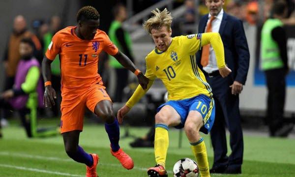 Bóng đá - Thụy Điển vs Chile 00h00, ngày 25/03